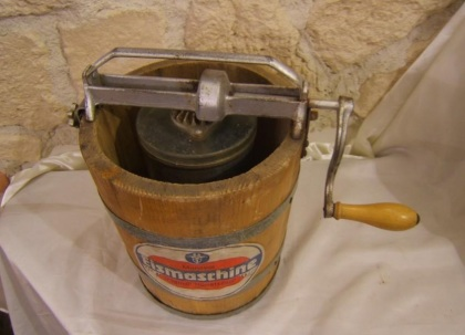 macchina da gelato antica