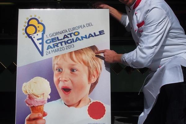 giornata europea gelato artigianale poster