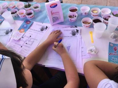 bambini e gelato